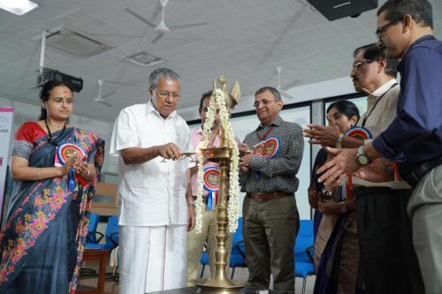 Hon Chief Minister of Kerala Sri Pinarayi Vijayan inaugurating the Global Convention
